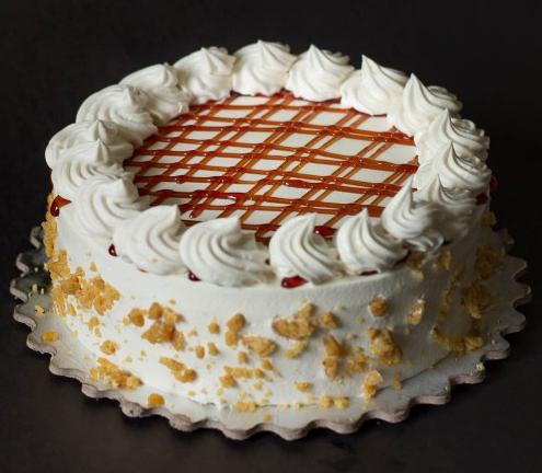 Online butter scotch cake