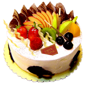 online fresh fruit cake