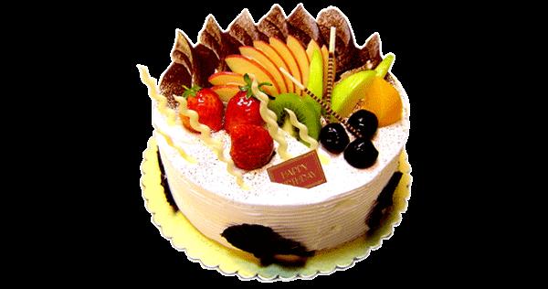 online fresh fruit cake