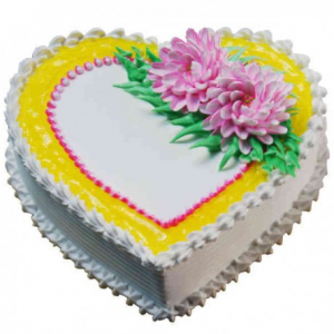pineapple-heartshape-cake-