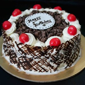 Happy Birthday Black Forest Cake