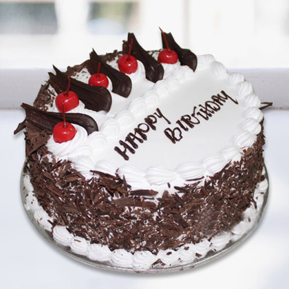 Special Black forest cake for Birthday