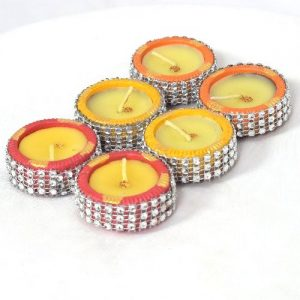 Decorated Candle set