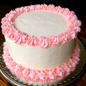 Beautiful Vanilla Cake
