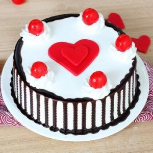 Black Forest with Heart on Top
