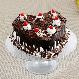 Chocolate Coated Black Forest Cake