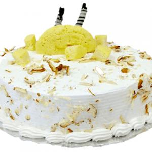 Pineapple Rasmalai Cake