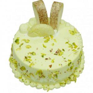 Rasmalai Cake with Vanilla Sponge
