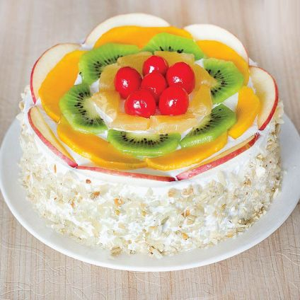 White forest Fruit Cake